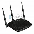 Actina P6806 Router WiFi 300M / 450M DualCore 2x800MHz 3xGLAN USB 3x5dBi Universal Repeater very fast for Gamers, low Ping